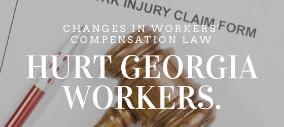 Hurt GA Workers